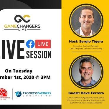 Gamechangers LIVE with David Ferrera, CEO of Quantum Fund.