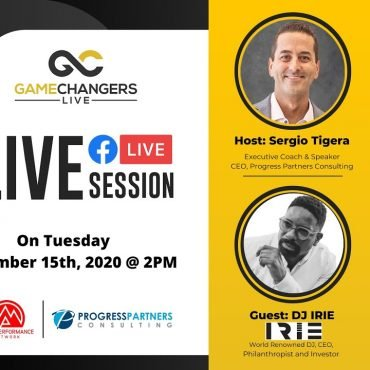Gamechangers LIVE with DJ IRIE, International Celebrity D
