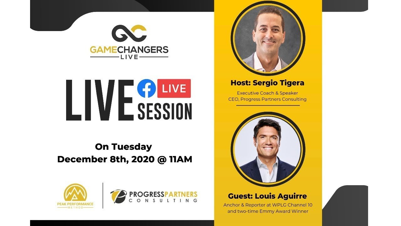Gamechangers LIVE featuring Louis Aguirre!