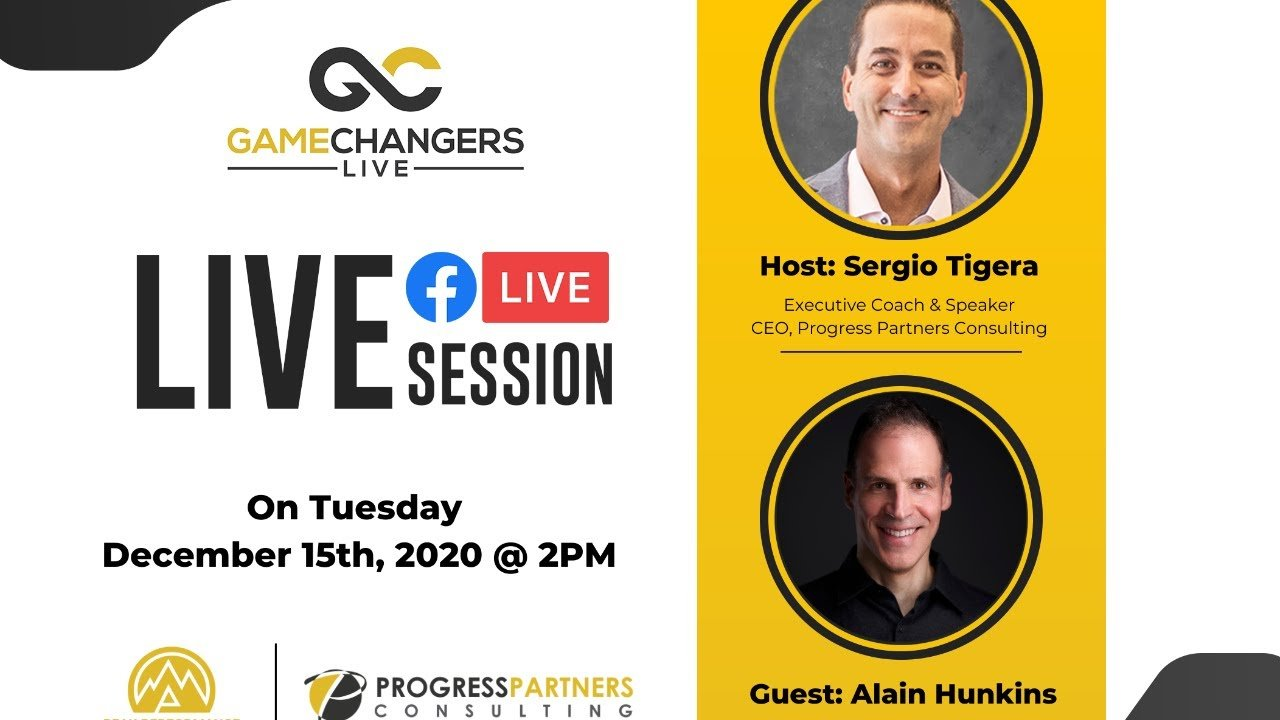 Gamechangers LIVE featuring Alain Hunkins