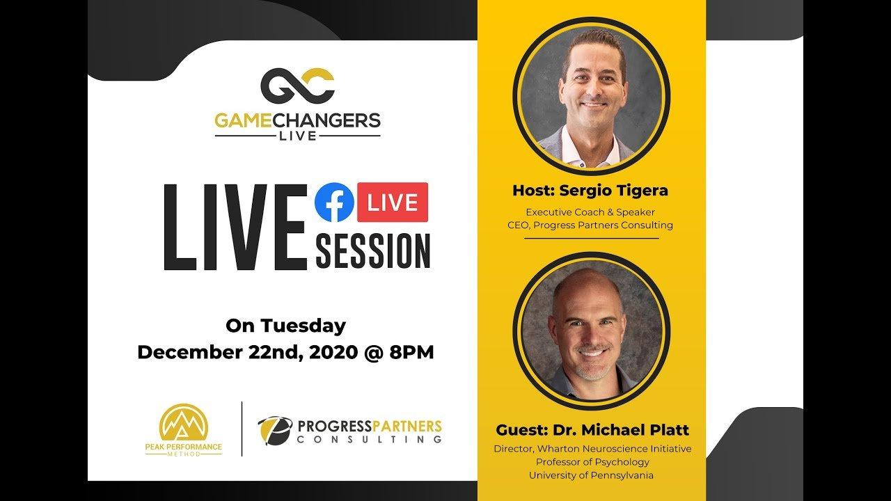 Gamechangers LIVE featuring Dr. Michael Platt