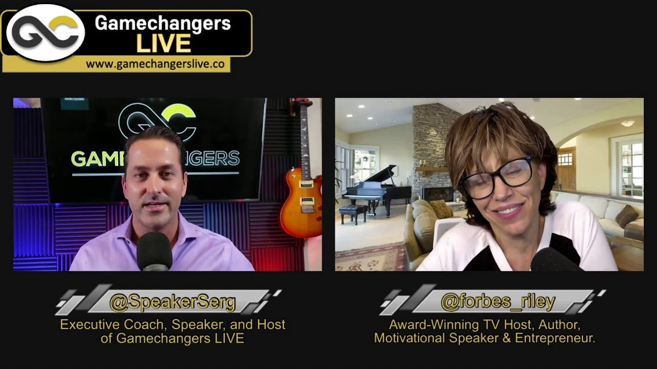 Gamechangers LIVE – Forbes Riley