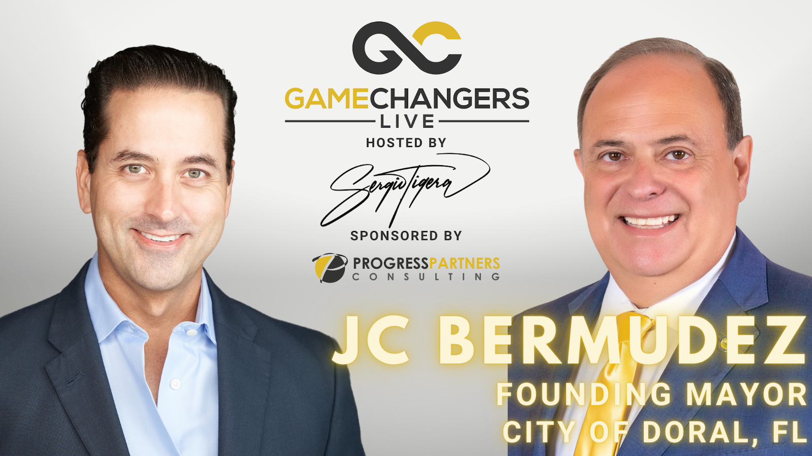 Gamechangers LIVE featuring JC Bermudez